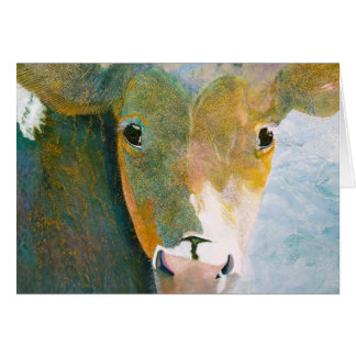 Spotted Cow Notecard