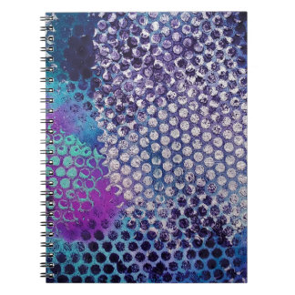 Spotted Dotted Abstract Fun Notebook