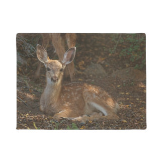 SPOTTED FAWN DOORMAT
