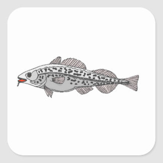 Spotted Fish Sticker