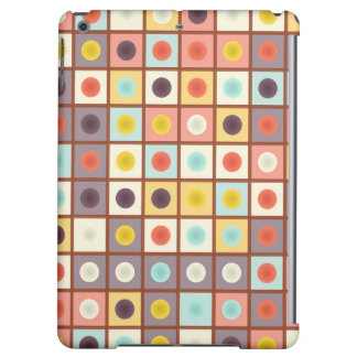 Spotted geometric pattern case for iPad air