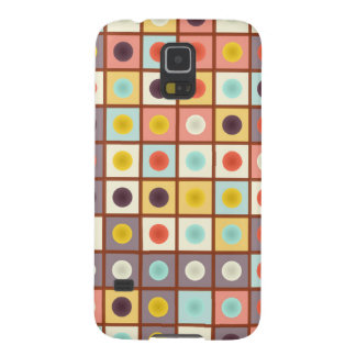 Spotted geometric pattern galaxy s5 cases