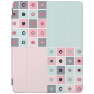 Spotted geometric pattern iPad cover