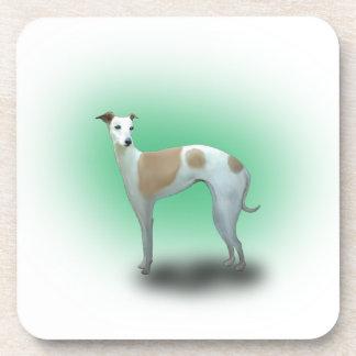 Spotted Greyhound Dog Coaster