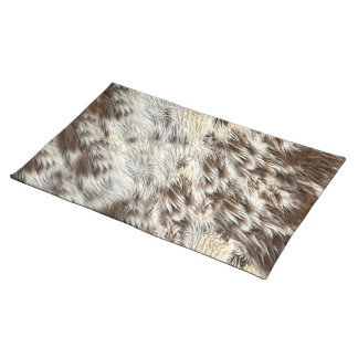 Spotted Horse / Cow Hide / Animal Fur Image Placemat