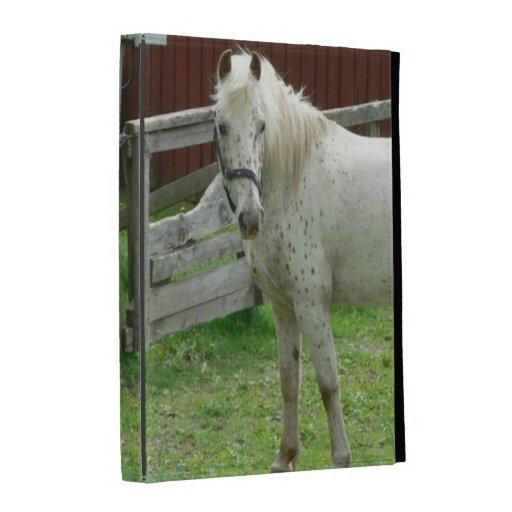 Spotted Horse iPad Folio Case