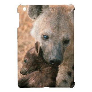 Spotted Hyena (Crocuta Crocuta) With Pup iPad Mini Case