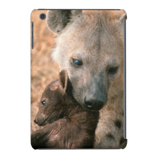 Spotted Hyena (Crocuta Crocuta) With Pup iPad Mini Retina Cases