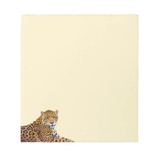 Spotted Jaguar Big Cat-lover #Gift Notepad