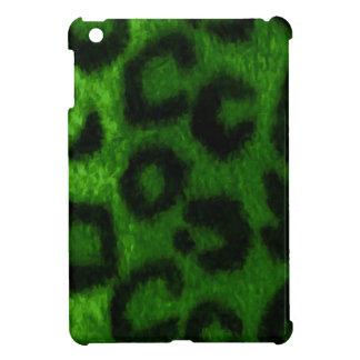 Spotted Leopard Green Wild Cat iPad Mini Case