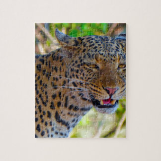 Spotted Leopard Jigsaw Puzzle