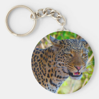 Spotted Leopard Keychain