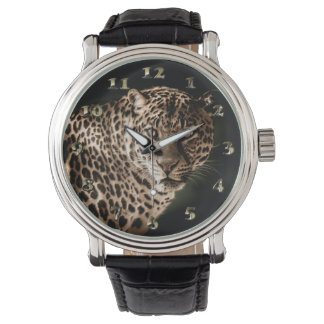 Spotted Leopard Starring Watch