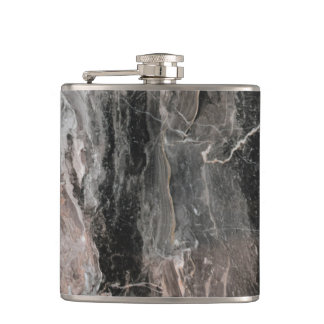 Spotted Marble Stone Hip Flask
