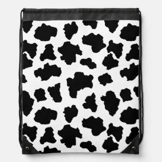 Spotted Moo Cow Dutch Holstein Animal Spots Backpacks