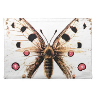 Spotted moth placemat