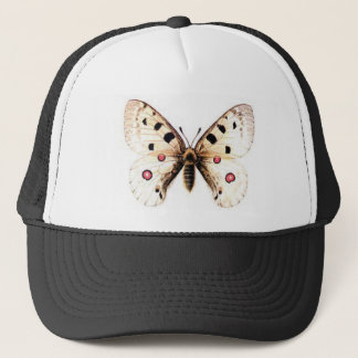 Spotted moth trucker hat