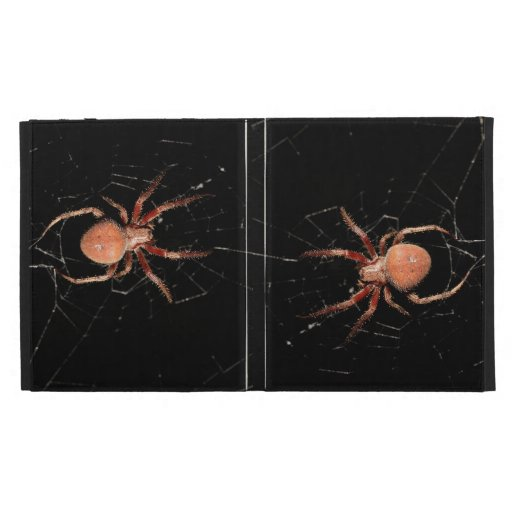 Spotted Orb Weaver Spider iPad Folio Case