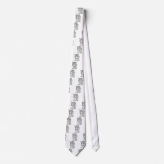 Spotted ounce tie