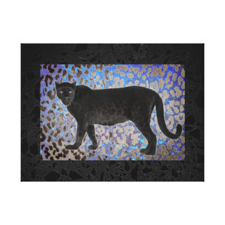 Spotted Panther Canvas Print
