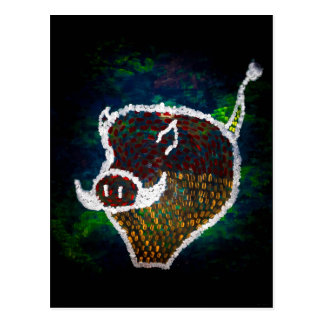"""Spotted Pig"" JTG Art Postcard"
