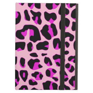 Spotted Pink Jaguar iPad Air Case Stand