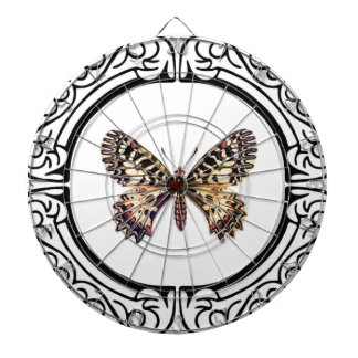 spotted ringed butterfly dartboard