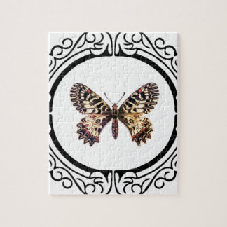 spotted ringed butterfly jigsaw puzzle