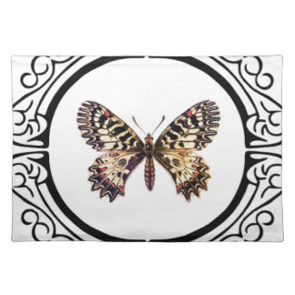 spotted ringed butterfly placemat