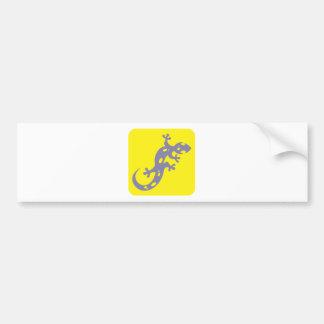 Spotted Salamander Icon Bumper Sticker