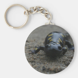 Spotted Salamander Keychain