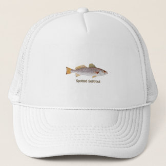 Spotted Seatrout (titled) Trucker Hat