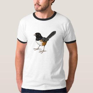 Spotted Towhee Bird, Original Art, Bird Watcher T-Shirt