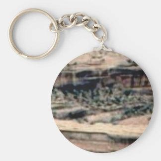 spotted white desert keychain