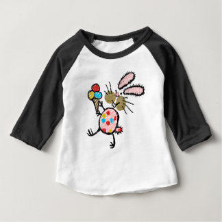 Spotty Bunny with Ice Cream Baby T-Shirt