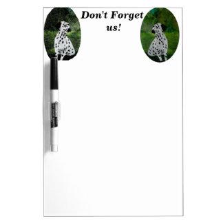 Spotty Dalmatian Dog Art Dry Erase Whiteboards