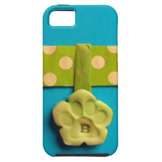Spotty Dog Bone - B iPhone 5 Cases