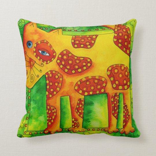 Spotty Dog Throw Pillow
