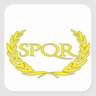 SPQR Roma Square Sticker