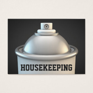 Spray Can | Housekeeping Services | Housekeeper Business Card