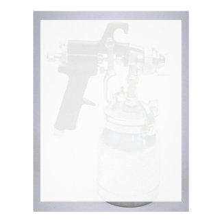 Spray-gun Letterhead Template