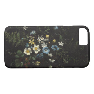 Spray of Flowers and Ferns by Titian Ramsay Peale iPhone 8/7 Case