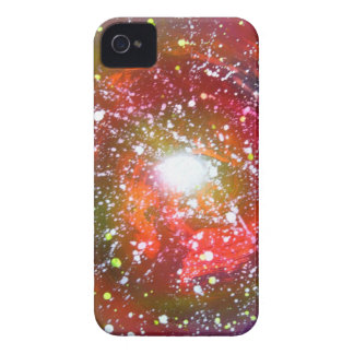 Spray Paint Art Night Sky Space Painting Case-Mate iPhone 4 Cases