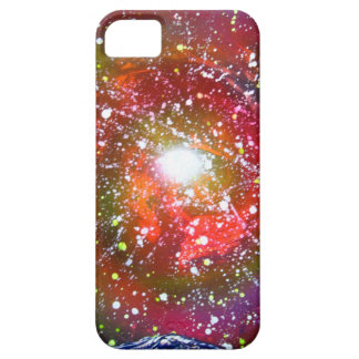 Spray Paint Art Night Sky Space Painting iPhone 5 Case