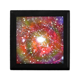 Spray Paint Art Night Sky Space Painting Jewelry Box