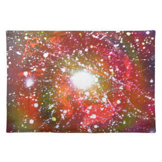 Spray Paint Art Night Sky Space Painting Placemat