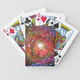 Spray Paint Art Night Sky Space Painting Poker Deck