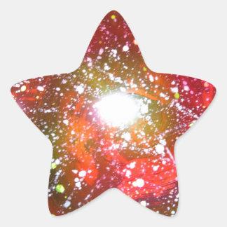 Spray Paint Art Night Sky Space Painting Star Sticker
