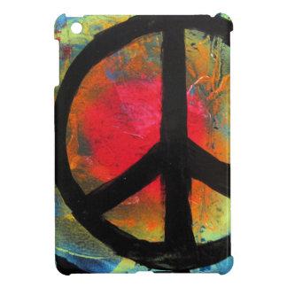 Spray Paint Art Rainbow Peace Sign Painting Case For The iPad Mini