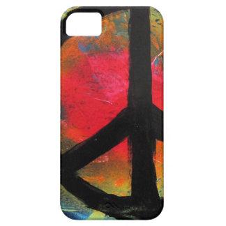 Spray Paint Art Rainbow Peace Sign Painting iPhone 5 Case